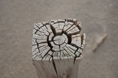 Gespleten hout Royalty-vrije Stock Fotografie