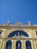 Gespleten Nationaal theater royalty-vrije stock afbeelding