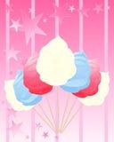 Gesponnen suiker Amerika Royalty-vrije Stock Fotografie