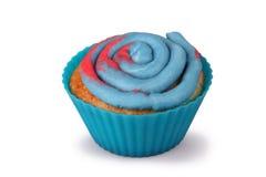 Gesponnen suiker Cupcake Royalty-vrije Stock Fotografie