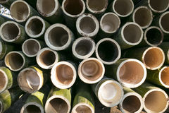 Gesponnener Bambus Lizenzfreie Stockfotos