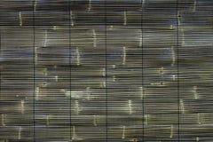 Gesponnener Bambus für Sun-Block Stockbilder