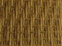Gesponnener Bambusrattan-Zaun Background Straw Weave Texture Rattanmöbelbeschaffenheit stockfoto