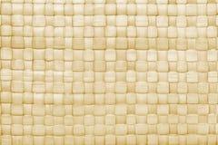Gesponnener Palmblatmattenhintergrund Stockbilder