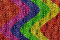 Gesponnener Wolle-Beschaffenheits-Hintergrund Lizenzfreie Stockfotos