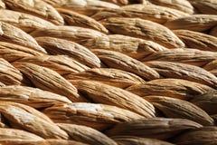 Gesponnenes getragenes Weidenbeschaffenheits-Makro stockbilder