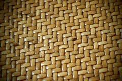 Gesponnenes Thatch-Hintergrund-Muster Lizenzfreie Stockbilder