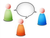 Gespräch vektor abbildung