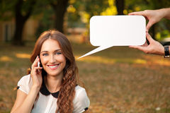 Gespräch Lizenzfreies Stockbild
