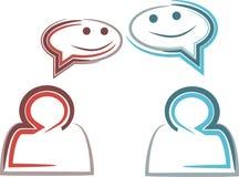 Gespräch Lizenzfreie Stockbilder