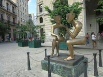 Gespräch in Havana stockfotos