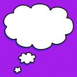 Gesprächs-Ballone Stockbild