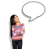 Gesprächsblase Stockbilder