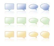 Gesprächsluftblase. Lizenzfreie Stockbilder