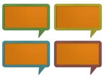 Gesprächsmarke Lizenzfreie Stockfotos