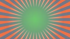Gesprengter abstrakter Hintergrund im Retrostil lizenzfreie abbildung