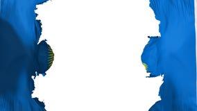 Gesprengter Commonwealth der Nationsflagge stock abbildung