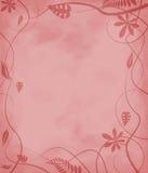 Gesprenkeltes Papierblumenrot Lizenzfreies Stockbild