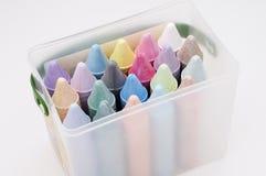 Gesso colorato 1 fotografia stock