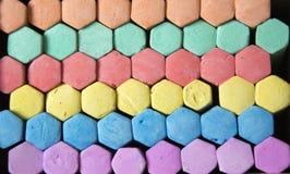 Gesso colorato Fotografia Stock Libera da Diritti
