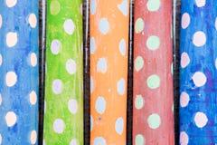 Gesso colorato del marciapiede Fotografia Stock