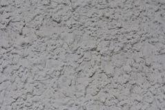 Gesso del volume di sollievo sulla parete della costruzione, grigio chiaro fotografia stock