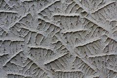 Gesso ornamentale, Calcio Vecchio Fotografie Stock Libere da Diritti