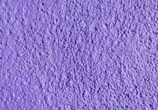 Gesso porpora di sollievo decorativo sulla parete Fotografia Stock