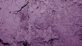 Gesso rosa sulla parete Fotografie Stock