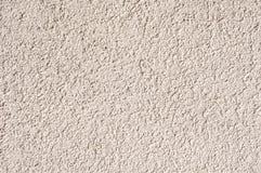 Gesso ruvido bianco sul primo piano della parete Fotografia Stock Libera da Diritti