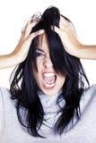 Gestão da raiva Foto de Stock Royalty Free