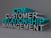 Gestão da relação do cliente Imagem de Stock Royalty Free