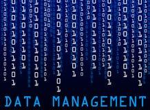 Gestão de dados Imagem de Stock