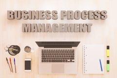 Gestão de processo de negócios Fotografia de Stock