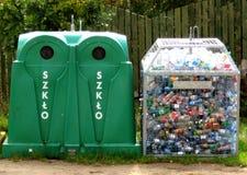 Gestão de resíduos Fotografia de Stock Royalty Free