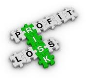 Gestão de riscos Imagens de Stock Royalty Free