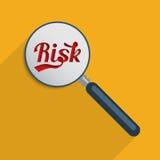 Gestão de riscos ilustração stock