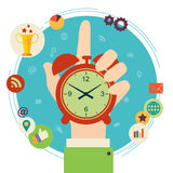 Gestão de tempo Imagem de Stock Royalty Free
