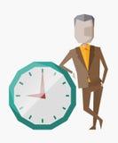 Gestão de tempo Imagens de Stock Royalty Free