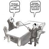 Gestão do conflito Imagem de Stock Royalty Free