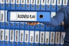 Gestão do plano de negócios, conceito da estratégia, Fotos de Stock Royalty Free