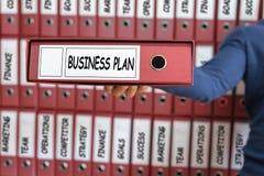 Gestão do plano de negócios, conceito da estratégia Fotografia de Stock Royalty Free