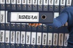 Gestão do plano de negócios, conceito da estratégia, Fotos de Stock