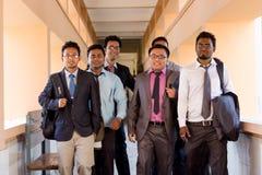 Gestão e estudantes de Direito Imagens de Stock Royalty Free