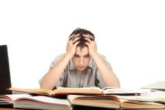 Gestörter Student Lizenzfreie Stockbilder