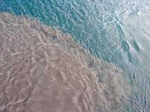 Gestörtes Wasser Stockfoto