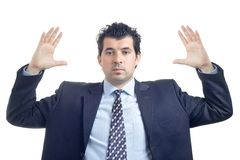 gest czyni człowieka Obraz Stock