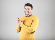 gest czyni człowieka Zdjęcia Stock