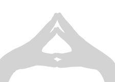 gest dłoni Zdjęcia Royalty Free
