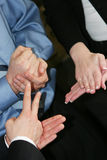 gest ręką obrazy stock